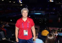 USA Coach Christy Halbert at the Olympics