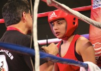 Marisol Lopez during 2013 US Boxing Nationals