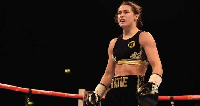Katie Taylor 3rd pro fight